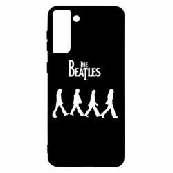 Чохол для Samsung S21+ Beatles Group