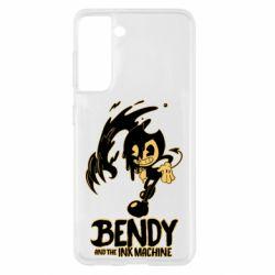 Чохол для Samsung S21 Bendy And The Ink Machine 1