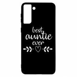 Чохол для Samsung S21+ Best auntie ever