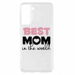Чохол для Samsung S21 Best mom
