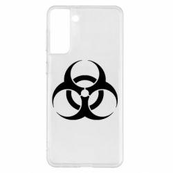 Чохол для Samsung S21+ biohazard