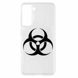 Чохол для Samsung S21 biohazard