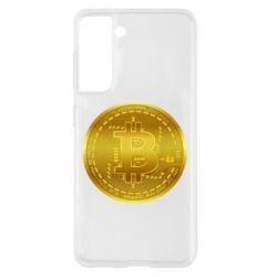 Чохол для Samsung S21 Bitcoin coin