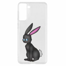 Чохол для Samsung S21+ Black Rabbit