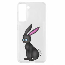 Чохол для Samsung S21 Black Rabbit