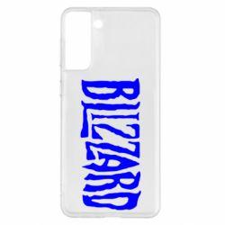 Чохол для Samsung S21+ Blizzard Logo