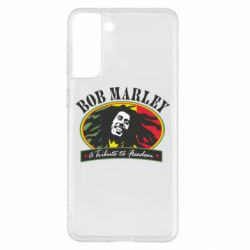 Чехол для Samsung S21+ Bob Marley A Tribute To Freedom
