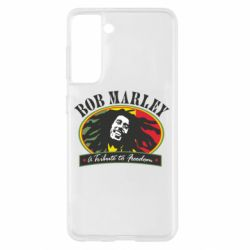 Чехол для Samsung S21 Bob Marley A Tribute To Freedom