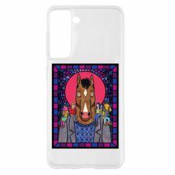 Чехол для Samsung S21 Bojack Horseman icon