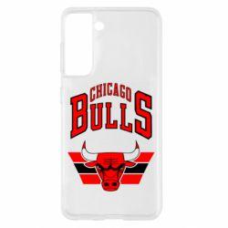Чохол для Samsung S21 Великий логотип Chicago Bulls