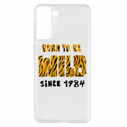 Чохол для Samsung S21+ Born to be wild sinse 1984