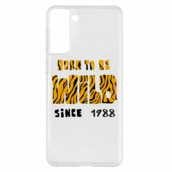 Чохол для Samsung S21+ Born to be wild sinse 1988