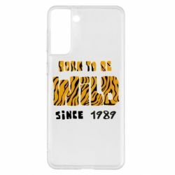 Чохол для Samsung S21+ Born to be wild sinse 1989
