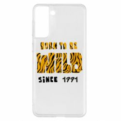 Чохол для Samsung S21+ Born to be wild sinse 1991
