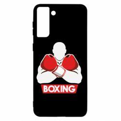 Чехол для Samsung S21+ Box Fighter