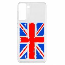 Чохол для Samsung S21+ Британський прапор