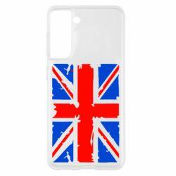 Чохол для Samsung S21 Британський прапор