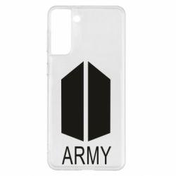 Чохол для Samsung S21+ Bts army