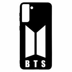 Чехол для Samsung S21+ BTS logotype
