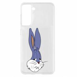 Чохол для Samsung S21 Bugs Bunny Meme Face