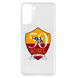 Чохол для Samsung S21+ Calcio Femminile Roma