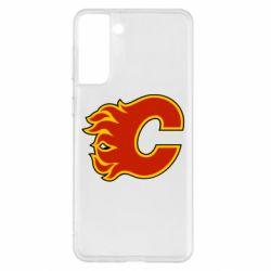 Чехол для Samsung S21+ Calgary Flames