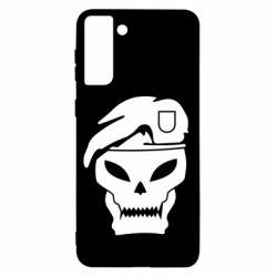 Чохол для Samsung S21+ Call of Duty Black Ops logo