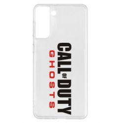 Чохол для Samsung S21+ Call of Duty Ghosts логотип