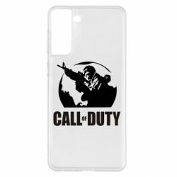 Чохол для Samsung S21+ Call of Duty логотип