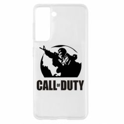 Чохол для Samsung S21 Call of Duty логотип