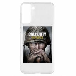 Чохол для Samsung S21+ Call of Duty WW2 poster