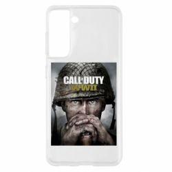 Чохол для Samsung S21 Call of Duty WW2 poster