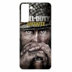 Чехол для Samsung S21+ Call of Duty WWII