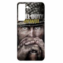 Чехол для Samsung S21 Call of Duty WWII