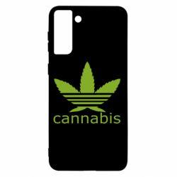 Чохол для Samsung S21+ Cannabis