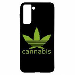 Чохол для Samsung S21 Cannabis