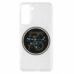 Чохол для Samsung S21 Capricorn constellation