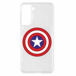 Чехол для Samsung S21 Captain America