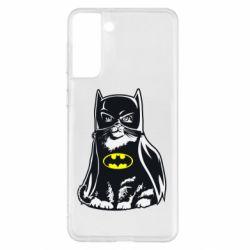 Чохол для Samsung S21+ Cat Batman