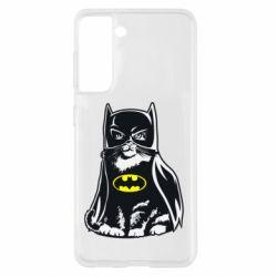 Чохол для Samsung S21 Cat Batman