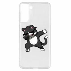 Чохол для Samsung S21+ Cat SWAG