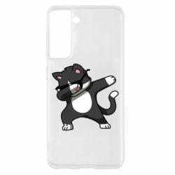 Чохол для Samsung S21 Cat SWAG