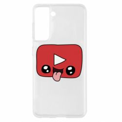 Чохол для Samsung S21 Cheerful YouTube