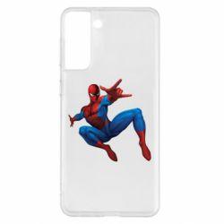 Чохол для Samsung S21+ Людина павук