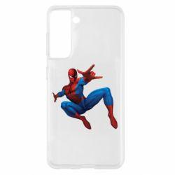 Чохол для Samsung S21 Людина павук