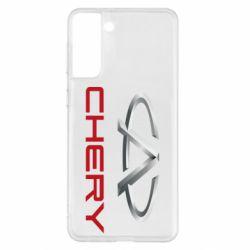 Чехол для Samsung S21+ Chery Logo