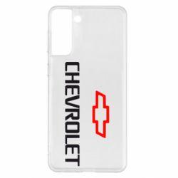 Чехол для Samsung S21+ CHEVROLET