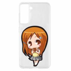 Чохол для Samsung S21 Chibi Orihime Bleach