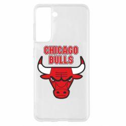 Чохол для Samsung S21 Chicago Bulls vol.2