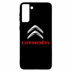 Чехол для Samsung S21+ Citroen лого